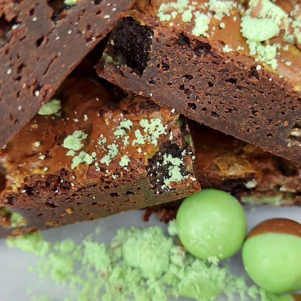 Mint Aero Brownie